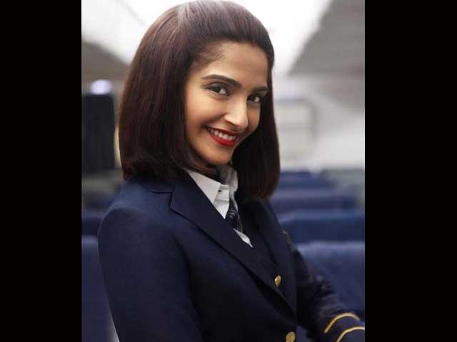 First Look: Sonam Kapoor as Flight Attendant Neerja Bhanot