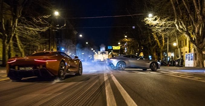 2 Concept Supercars Fight it Out in Upcoming Bond Movie