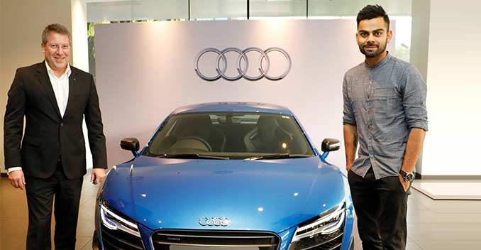 Virat Kohli Takes Delivery Of The Fastest Audi Ever Ndtv