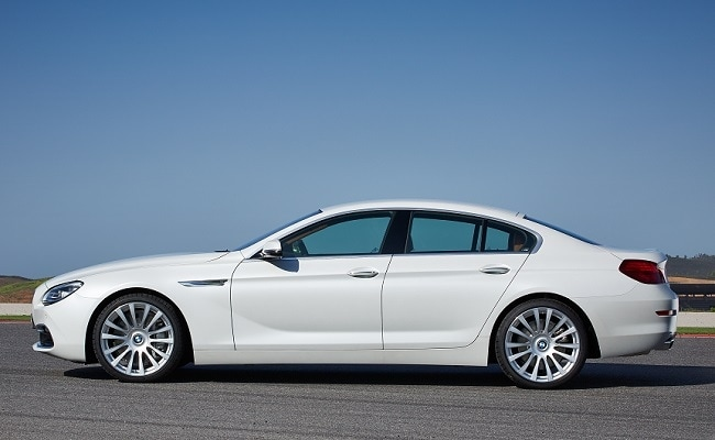 2015 BMW 6 Series Gran Coupe Side Profile