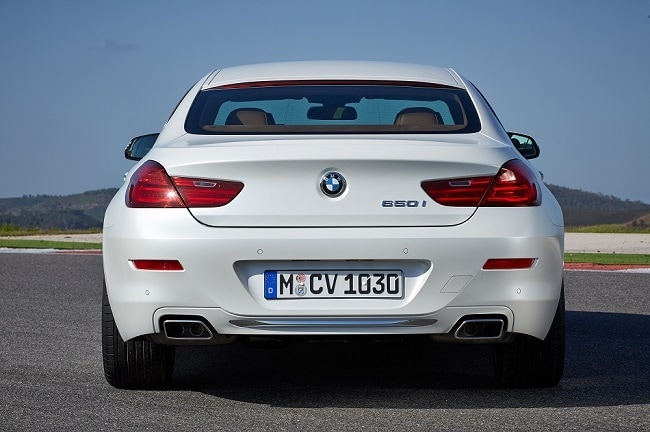 2015 BMW 6 Series Gran Coupe Rear Profile