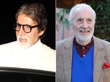 Christopher Lee and Amitabh Bachchan Played Golf Together Once. It Was 'Wonderful'