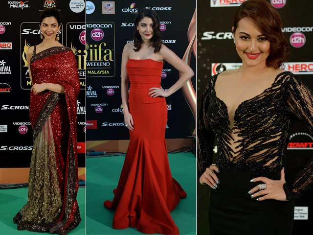 IIFA Awards: Deepika, Anushka, Sonakshi Lead A-List Green Carpet