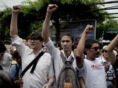 EU Slams 'Disturbing' Thai Student Sedition Charges