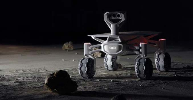 Audi Unveils Lunar quattro; Will Land on the Moon in 2017
