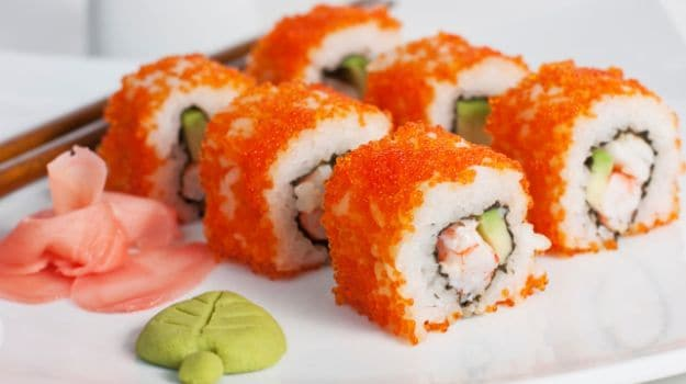 An East coast versus West coast showdown! Our Boston Roll and California  Roll meal provides