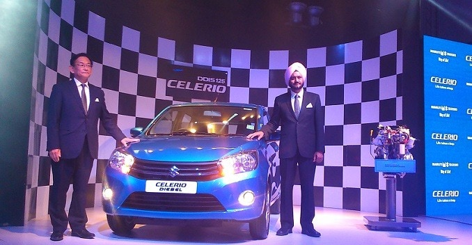 Maruti Suzuki Celerio Diesel Launched; Prices Start at &#8377 4.65 Lakh