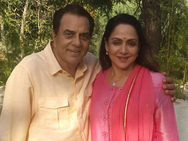 No Name Yet For Dharmendra and Hema Malini's Grandson