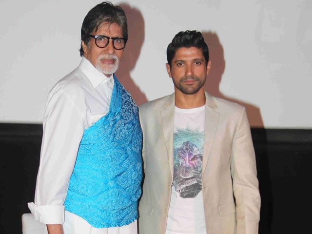Farhan Akhtar: I Joined Film Industry Because of Amitabh Bachchan