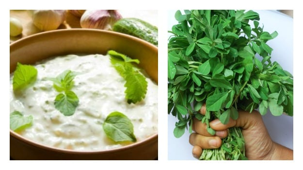 fenugreek yoghurt