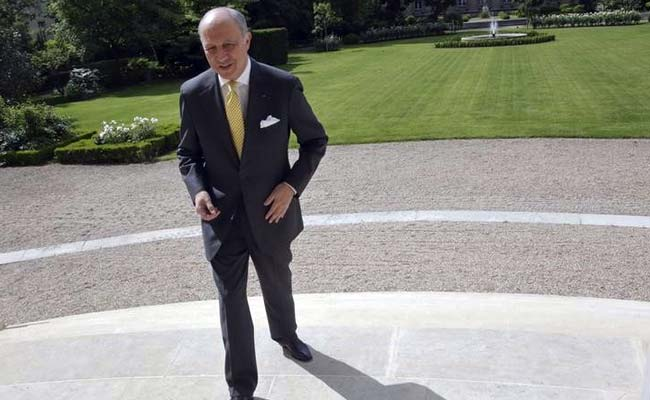 France Foreign Minister Laurent Fabius Says 'Will Go' to Iran After Nuclear Deal