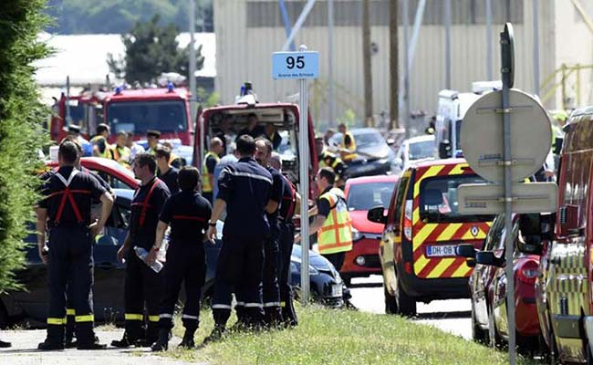 Terror Attack at French Factory, Decapitated Body, Islamist Flag