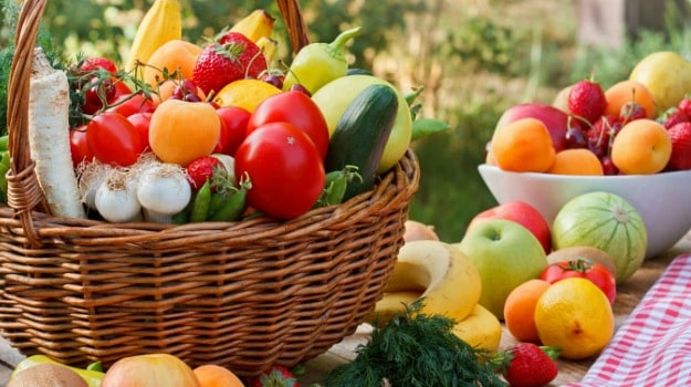 fruits and vegetables for pcod