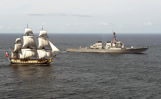 Replica of Revolutionary French Ship Arrives in US