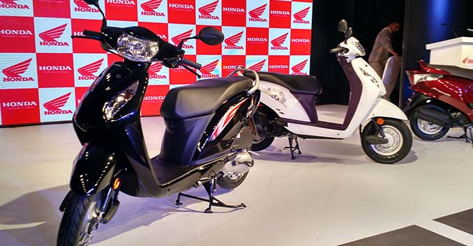 Honda Launches Refreshed Versions of the Aviator and the Activa i