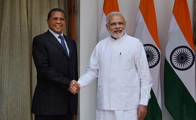 India, Tanzania to Fight Terrorism, Boost Gas Exploration