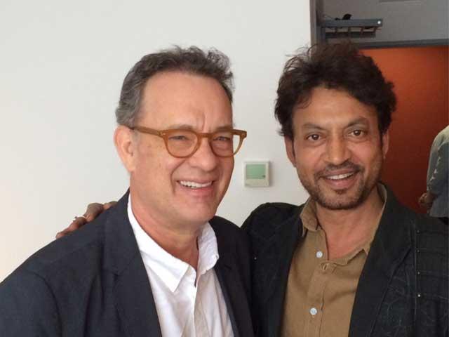 इरफान खान की 'जादुई' आंखों से मोहित हो गए टॉम हैंक्स