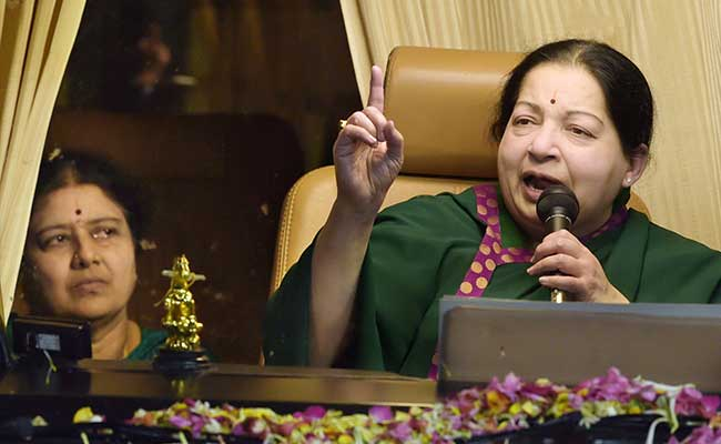 AIADMK 'Without Father And Mother', Says Tamil Nadu Minister