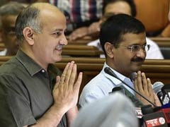 Arvind Kejriwal, Manish Sisodia, 69 Others Take Oath As MLAs In Delhi