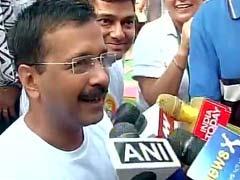 Arvind Kejriwal Joins PM Narendra Modi at Rajpath for Yoga Day