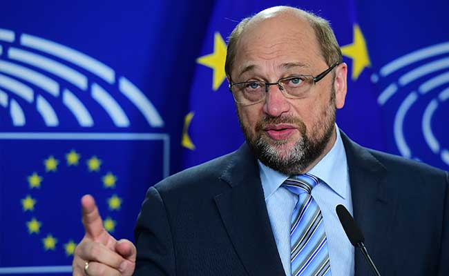 Angela Merkel Rival Martin Schulz Vows To Fight German Election Like France's Emmanuel Macron