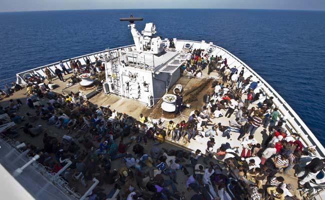 More Than 50 Migrants Die In Mediterranean Crossings