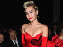 Miley Cyrus' Art, Titled 'The Caitlyn Collection,' Sells For $69,000 at amfAR Gala Auction