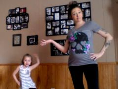 This Awesome Dance-Off Featuring Little Girl and Her Pregnant Mom is Going Viral