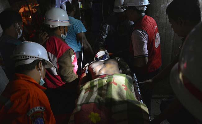 2 Dead, Dozens Injured in Collapse at Myanmar Luxury Hotel Building Site