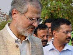 LG ही सरकार है : नजीब जंग ने मुख्यमंत्री अरविंद केजरीवाल को दिया नोटिफिकेशन का हवाला