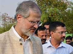 BJP Complains to Lieutenant Governor Najeeb Jung Against Delhi Government