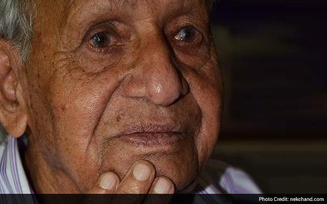 Nek Chand, Creator of Chandigarh's Rock Garden, Dies at 90