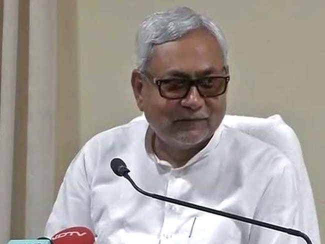 'Jungle Raj' Can Never Return Till I am There: Bihar Chief Minister Nitish Kumar