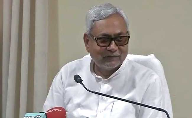 Bihar Chief Minister Nitish Kumar Confirms Alliance With Lalu Yadav's RJD and Congress
