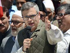 Former Chief Minister Omar Abdullah Leads March Against Jammu and Kashmir Government in Srinagar
