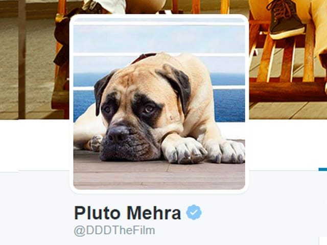 Who Let The Dog Out? Dil Dhadakne Do's Pluto Mehra is on Twitter