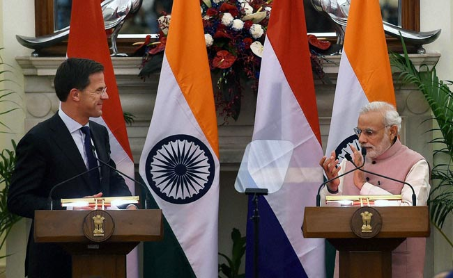 Dutch Prime Minister Mark Rutte Meets PM Modi, Says Netherlands Keen to Invest in India