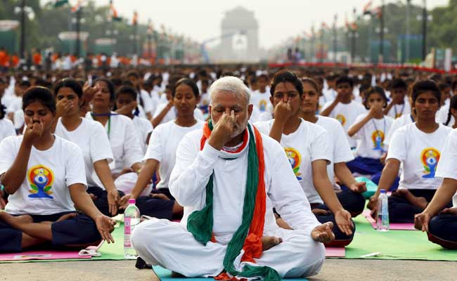 PM Modi Leads Yoga Session, India Sets Guinness Records:  10 Developments