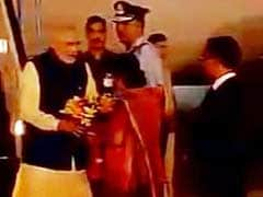 PM Narendra Modi Returns Home After Two-Day Bangladesh Visit