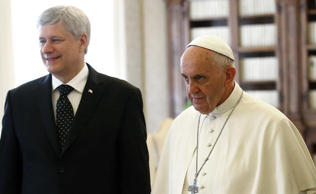 Stephen Harper, Pope Francis Discuss School Abuse Scandal