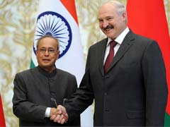 India and Belarus Ink 6 Agreements During President Pranab Mukherjee's Visit