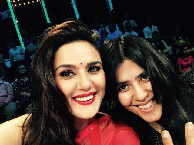 Preity Zinta 'Surprised' by Rumours of Lateness and Quitting Nach Baliye