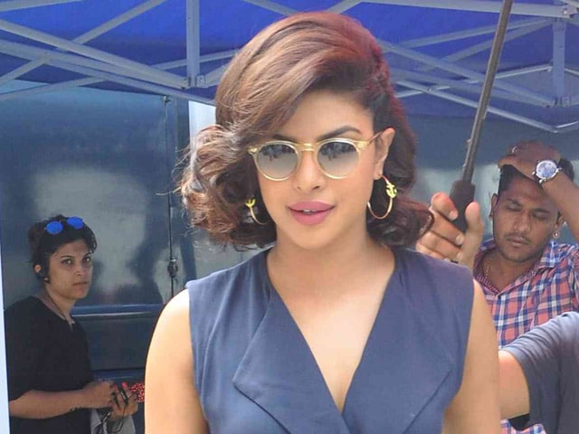Priyanka Chopra Instagrams Photos From the Sets of Gangaajal 2