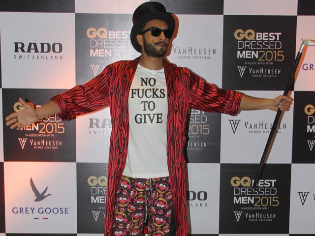 At GQ Awards, Ranveer Singh (Really) Wore Muppet Pyjamas and Sylvester Fluffy Slippers
