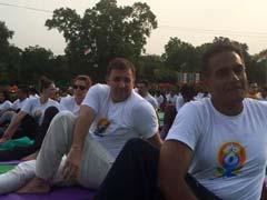 US Ambassador Richard Verma Celebrates International Yoga Day at Rajpath