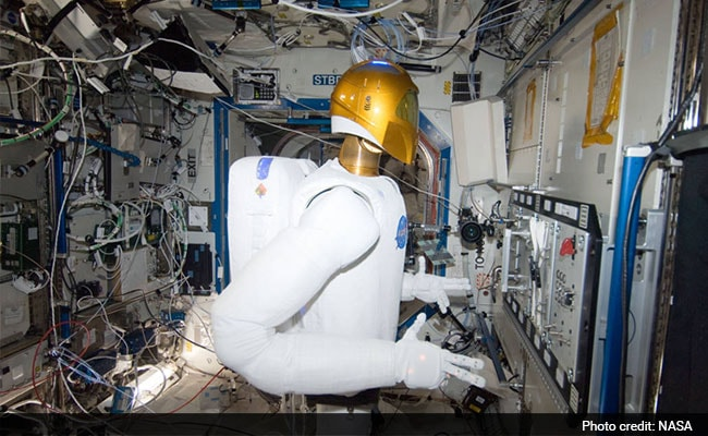 NASA Has a Robot in International Space Station