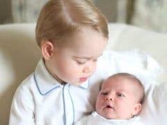 Kensington Palace Posts 'Very Special Photo' of Princess Charlotte With Her Brother