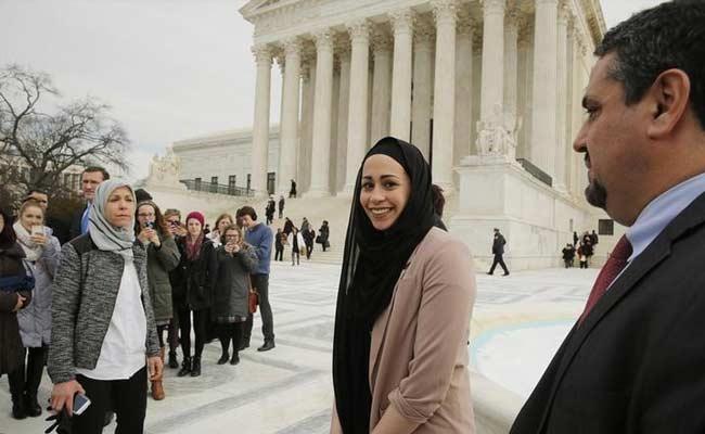 US Top Court Backs Muslim Woman Denied Job Over Head Scarf