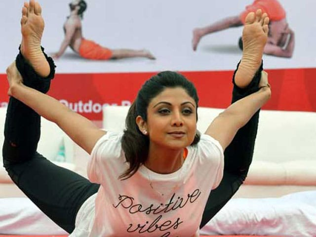 Shilpa Shetty 'Would Like to Play Catalyst' in PM Modi's Yoga Initiative