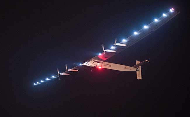 Solar Impulse Takes Off on Delayed Pacific Flight